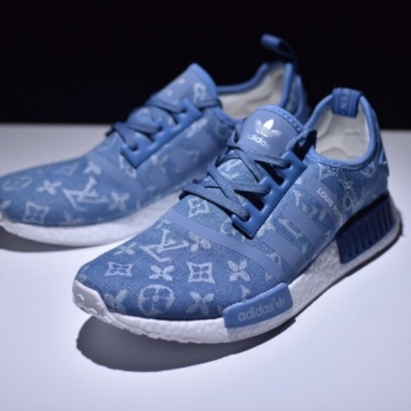 new arrivals ad9c0 8547c Adidas NMD Louis Vuitton Blue